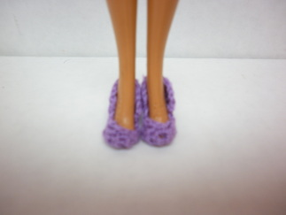 Crochet Barbie Heels