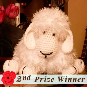 2nd Prize Winner | Fall into Christmas Birthday Crochet Contest 2015 via @beckastreasures