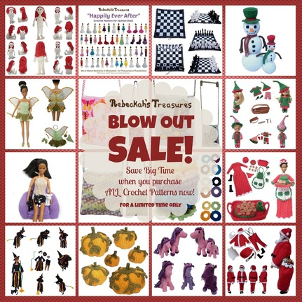 BLOW OUT SALE - 1 Year - All Patterns
