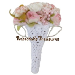 Isabel's Barbie Wedding ~ Barbie Bride's Bouquet