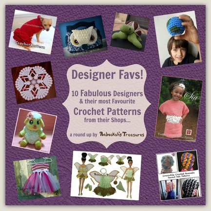 Designer Favourites - Crochet Pattern Round Up