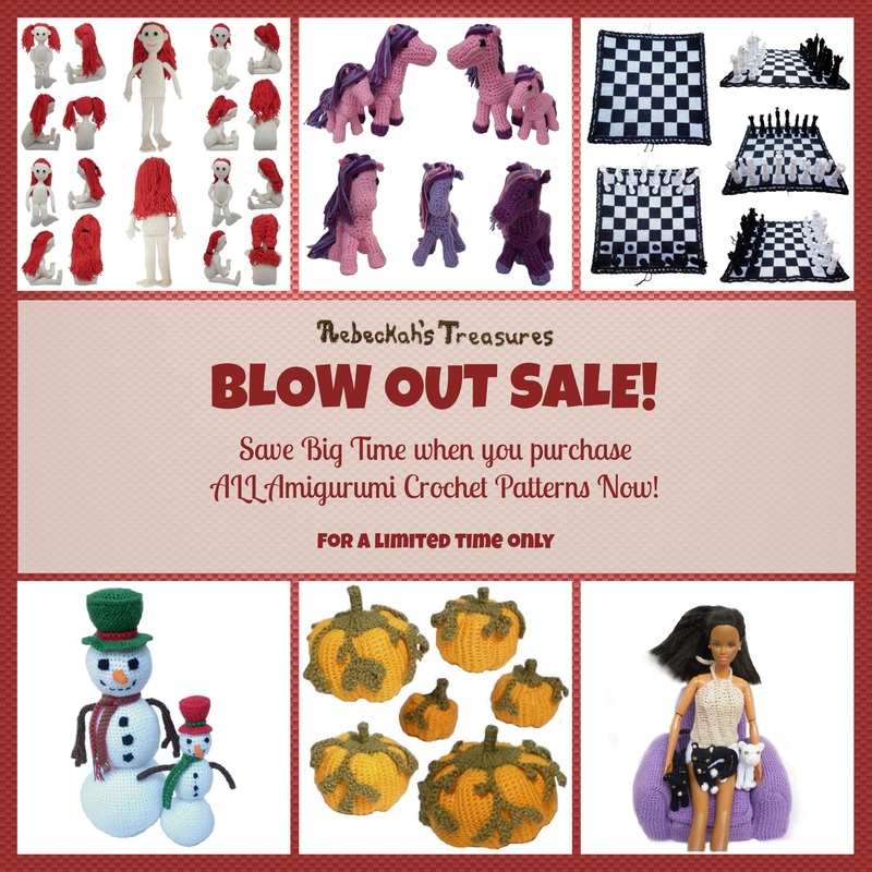 BLOW OUT SALE - 1 Year - Amigurumi Patterns