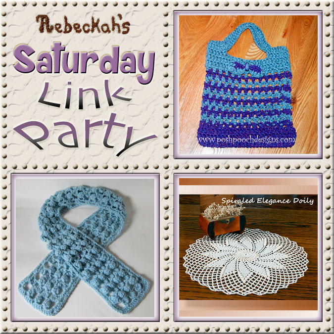 Share what you're making, increase your reach and have some fun with Rebeckah's 8th Saturday Link Party with @beckastreasures
