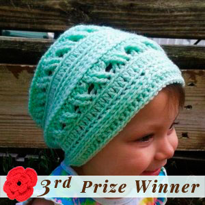 3rd Prize Winner | Fall into Christmas Birthday Crochet Contest 2015 via @beckastreasures