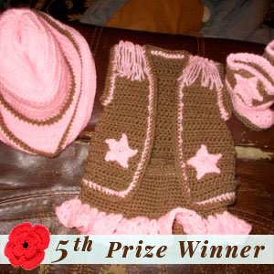 5th Prize Winner | Fall into Christmas Birthday Crochet Contest 2015 via @beckastreasures