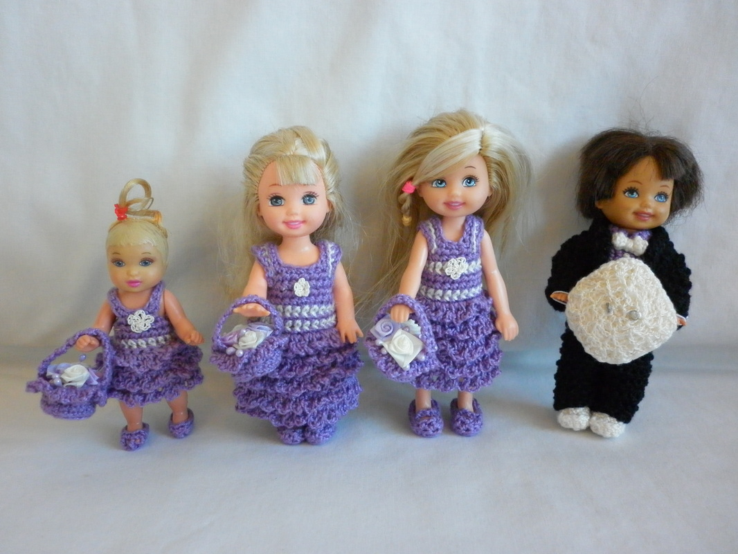 Crochet Kelly Flower Girl Dresses & Crochet Tommy Tuxedo