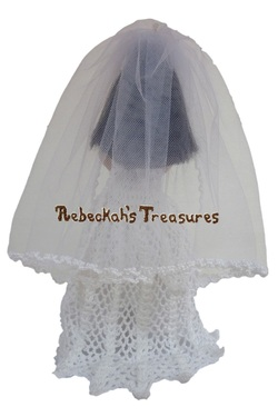 Isabel's Barbie Wedding ~ Barbie Bride with Veil Back
