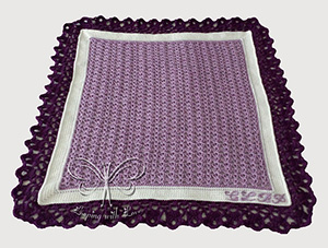 Bellini Baby Blanket | Friday Feature #17 via @beckastreasures with @LoopingWithLove #crochet | See the latest designer features here: https://goo.gl/UIvoYx OR SIGN UP to get featured at Rebeckah's Treasures here: https://goo.gl/xjDP52 #crochet