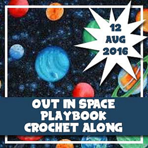 My Out in Space Playbook CAL | Featured on @beckastreasures Tuesday Treasures #6 with @COTCCrochet!