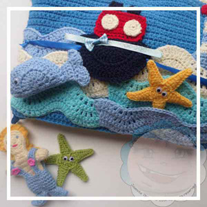 My Crochet Under the Sea Playbook | Friday Feature #7 via @beckastreasures with @COTCCrochet #crochet