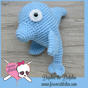 Dolphin Amigurumi | Friday Feature #8 via @beckastreasures with @ForeverStitchin#crochet