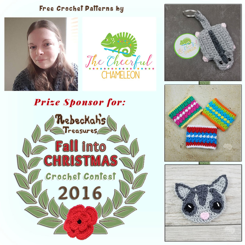 #Free Crochet Patterns by @CheeryChameleon to enjoy now! | Featured at The Cheerful Chameleon - Sponsor Spotlight Round Up via @beckastreasures | #fallintochristmas2016 #crochetcontest #spotlight #crochet #roundup