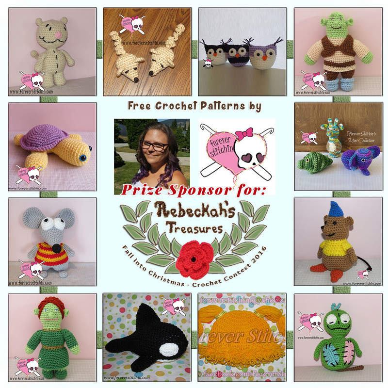 #Free Crochet Patterns by @foreverstitchin to enjoy now! | Featured at Forever Stitchin - Sponsor Spotlight Round Up via @beckastreasures | #fallintochristmas2016 #crochetcontest #spotlight #crochet #roundup