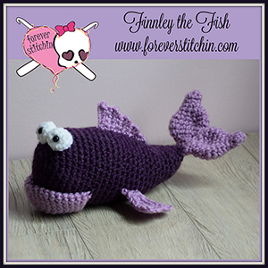Finnley the Fish Amigurumi - Crochet Pattern by @foreverstitchin | Featured at Forever Stitchin - Sponsor Spotlight Round Up via @beckastreasures | #fallintochristmas2016 #crochetcontest #spotlight #crochet #roundup