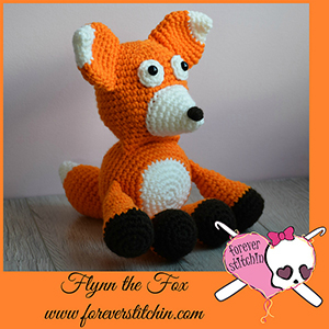 Flynn the Fox Amigurumi - Crochet Pattern by @foreverstitchin | Featured at Forever Stitchin - Sponsor Spotlight Round Up via @beckastreasures | #fallintochristmas2016 #crochetcontest #spotlight #crochet #roundup