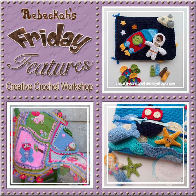 Joanita Theron - Creative Crochet Workshop | Friday Feature #7 via @beckastreasures with @COTCCrochet | Come see 3 pattern features + get to know a little about her! #crochet #designer