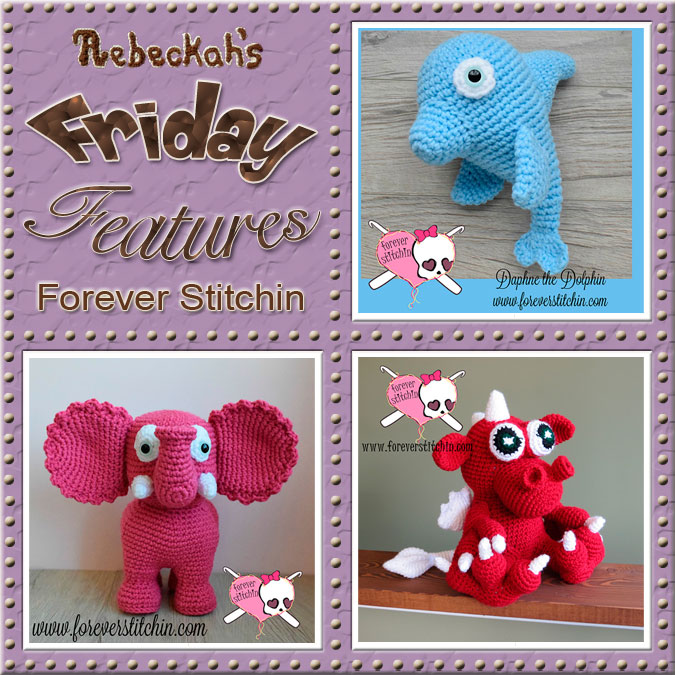 Jodi Sheehan - Forever Stitchin | Friday Feature #8 via @beckastreasures with @ForeverStitchin| Come see 3 pattern features + get to know a little about her! #crochet #designer