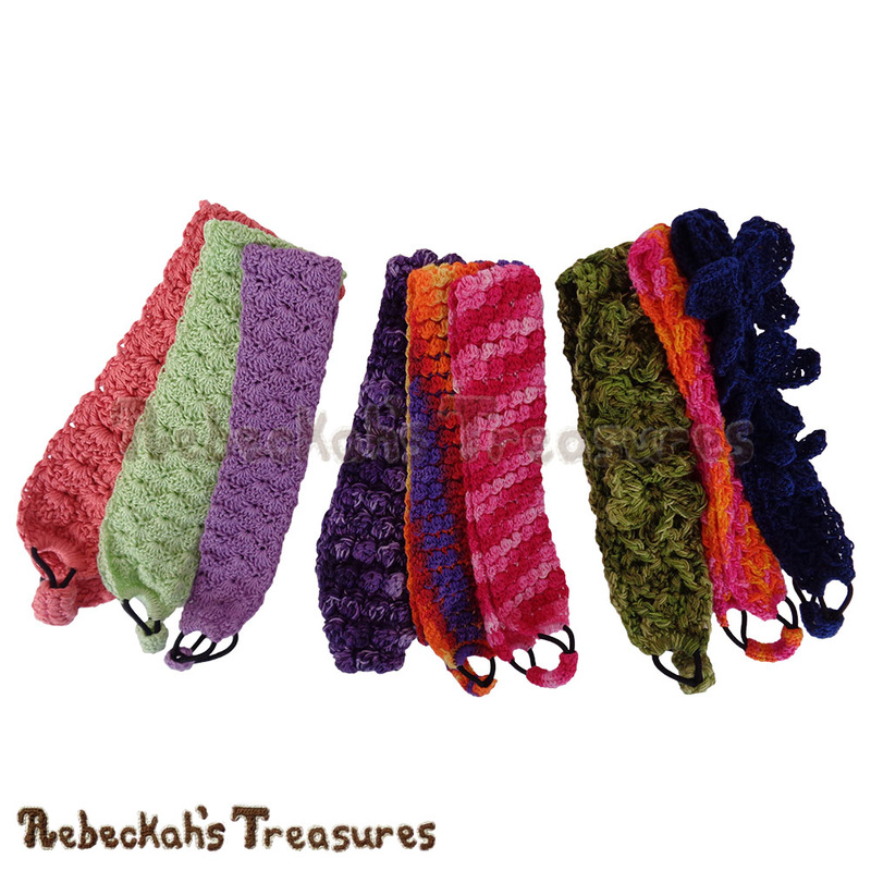 9 Gorgeous Headbands by @beckastreasures | Limited Time Free Crochet Patterns for A Designer's Potpourri Year-Long CAL with @countrywillow12, @crochetmemories, @Sherrys2boyz & @ArtofaDG | #headband #crochet #pattern #holidaygift #stashbuster | Join today!