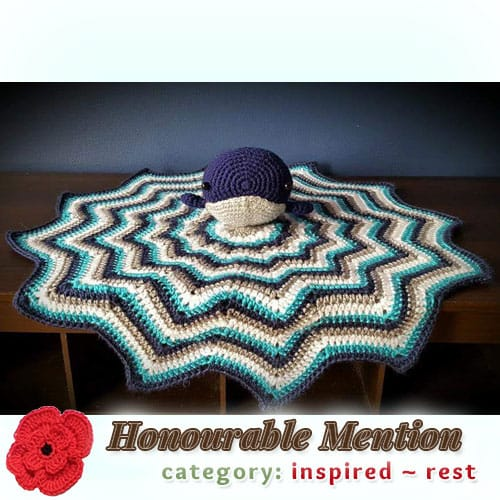 Whale Lovey | REST Category - Honourable Mention (more than 100 votes) at @beckastreasures | Fall into Christmas Crochet Contest 2016 (October 30th - December 21st)