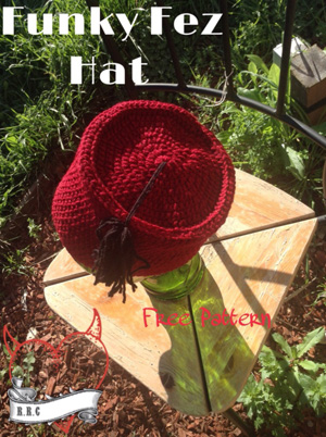 Funky Fez Hat | Friday Feature #1 via @beckastreasures with @keep_on_farting #crochet