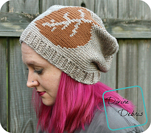 Laurel Leaf Slouch Hat - Crochet Pattern by @divinedebrisweb | Featured at Divine Debris - Sponsor Spotlight Round Up via @beckastreasures | #fallintochristmas2016 #crochetcontest #spotlight #crochet #roundup