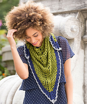 Light & Lacy Shawl - Free Crochet Pattern by @SalenaBaca | Featured at Red Heart - Sponsor Spotlight Round Up via @beckastreasures with @redheartyarns| #fallintochristmas2016 #crochetcontest #spotlight #crochet #roundup