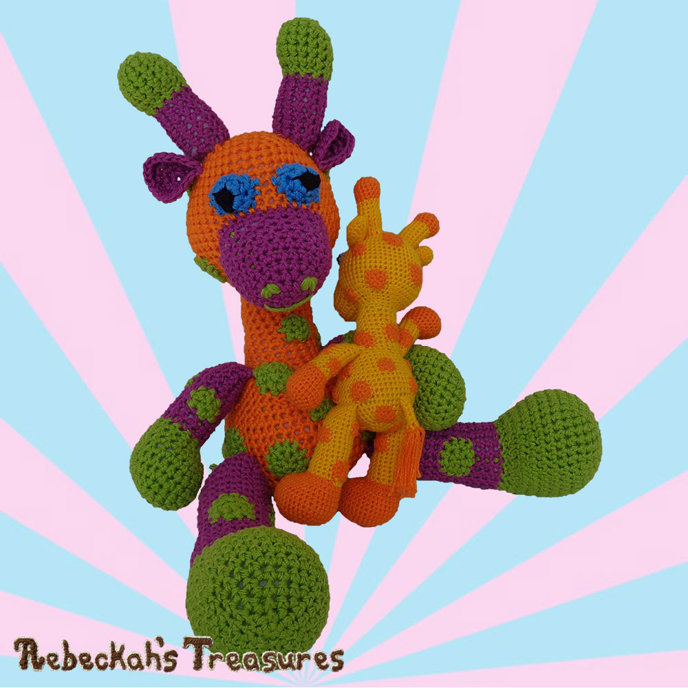 Otis Snuggles with Momma April! | #Otis #Giraffe - #Amigurumi Crochet-A-Long by @beckastreasures | #OtisGiraffeCAL Part 3: LIMBS (arms, legs, tail) - Watch 3 #Video #Tutorials AND #Download the crochet pattern for this part of the #CAL in #English #Dansk #Nederlands #Deutsche #עִברִית #Español & #Svenska! | #crochet #pattern #April #YouTube