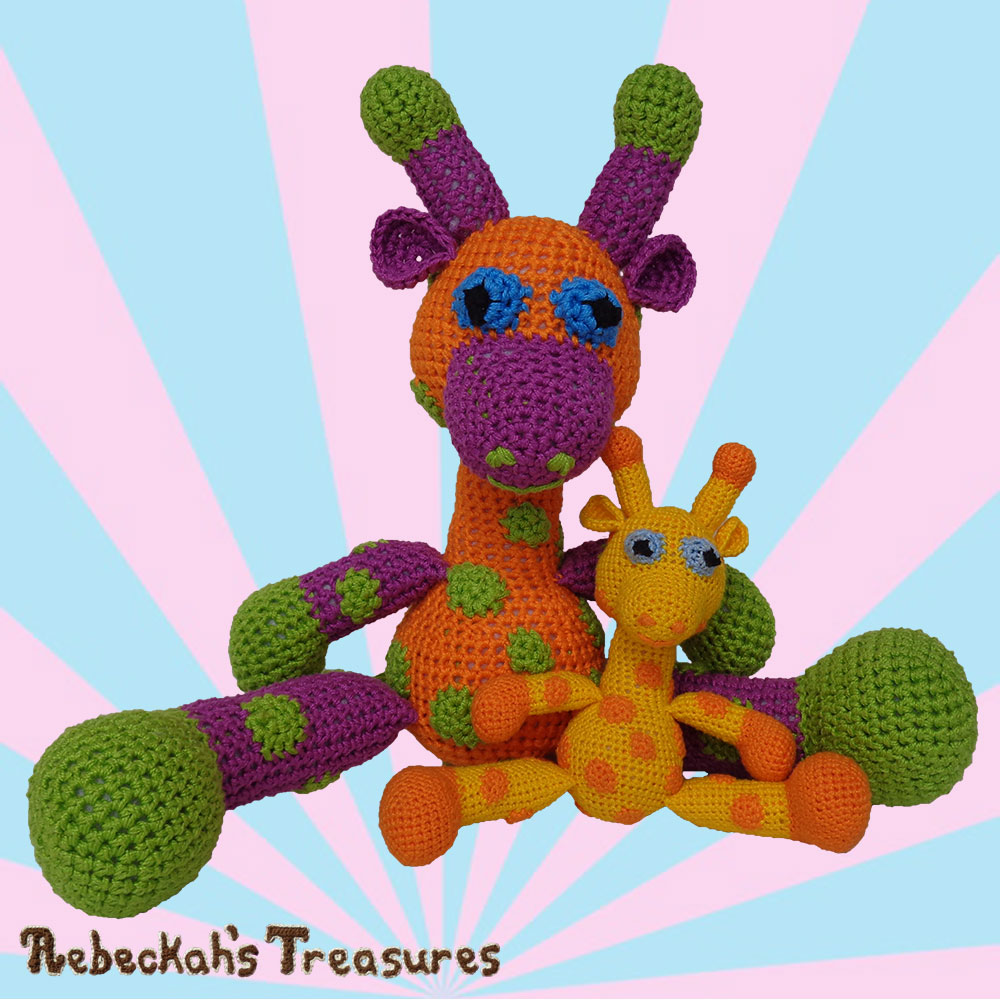 Thanks for joining April & Otis for Part 5! | #Otis #Giraffe - #Amigurumi Crochet-A-Long by @beckastreasures | #OtisGiraffeCAL Part 5: FACIAL FEATURES (muzzle, ears, eyes, horns) - Watch 4 #Video #Tutorials AND #Download the crochet pattern for this part of the #CAL in #English #Dansk #Nederlands #Deutsche #עִברִית #Español & #Svenska! | #crochet #pattern #April #YouTube