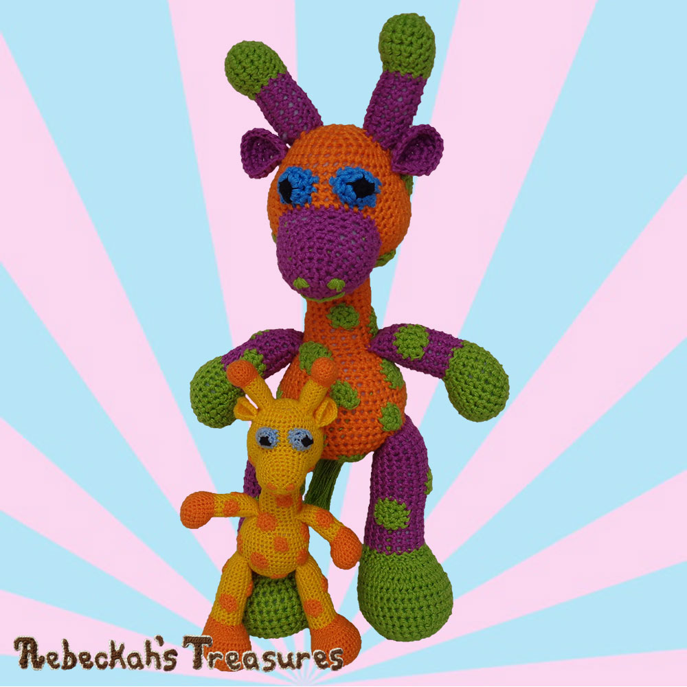 Otis & April are so excited you're crocheting with us! | #Otis #Giraffe - #Amigurumi Crochet-A-Long by @beckastreasures | #OtisGiraffeCAL Part 5: FACIAL FEATURES (muzzle, ears, eyes, horns) - Watch 4 #Video #Tutorials AND #Download the crochet pattern for this part of the #CAL in #English #Dansk #Nederlands #Deutsche #עִברִית #Español & #Svenska! | #crochet #pattern #April #YouTube