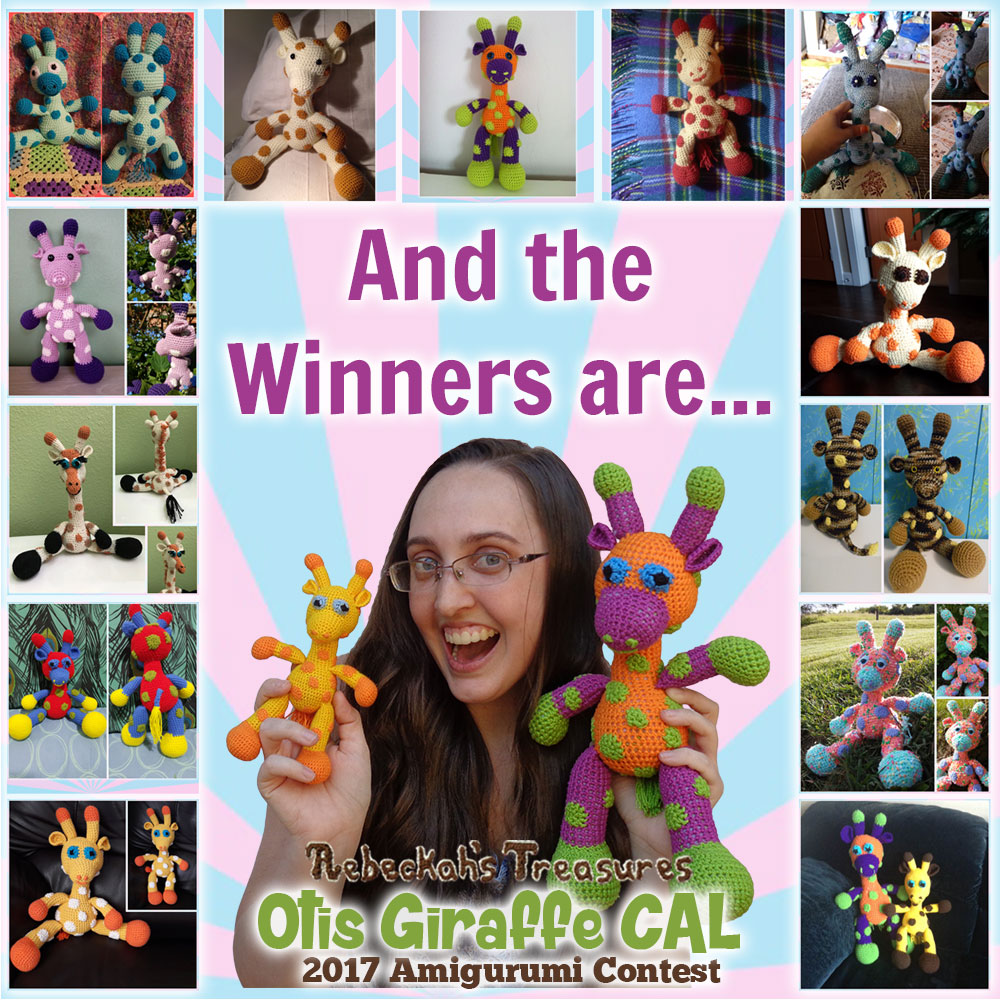 Otis Giraffe CAL Contest 2017 Winner Announcement via @beckastreasures