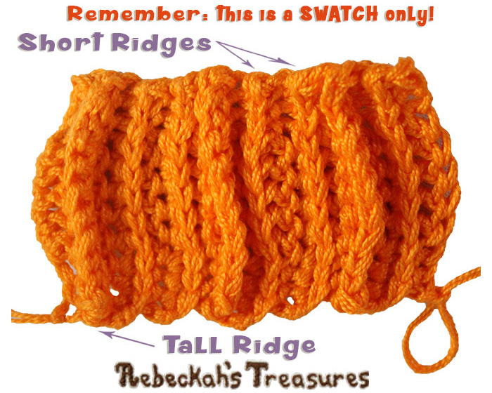 WIP Picture 3 | Pumpkin Treats Pumpkin Coin Purse by @beckastreasures | Free Crochet Pattern for A Designer's Potpourri Year-Long CAL with @countrywillow12, @crochetmemories, @Sherrys2boyz & @ArtofaDG | #pumpkin #crochet #purse #autumn | Join today!