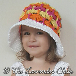 Quiver Fans Sun Hat | Featured on @beckastreasures Tuesday Treasures #7 with @LavenderChair!