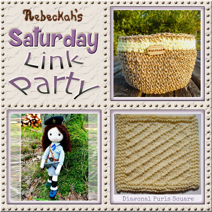 Saturday Link Party #60 via @beckastreasures with #katkatkatoen #lalkacrochetka & @ucrafter | Come see 3 awesome project features, and JOIN us for an all NEW link party today! | #linkparty #crochet #knit #crafts #recipes #dyi #howto #tutorials #patterns | *Party #60 ends Friday, November 4th, 2016. Join the latest parties here: https://goo.gl/uUHihU