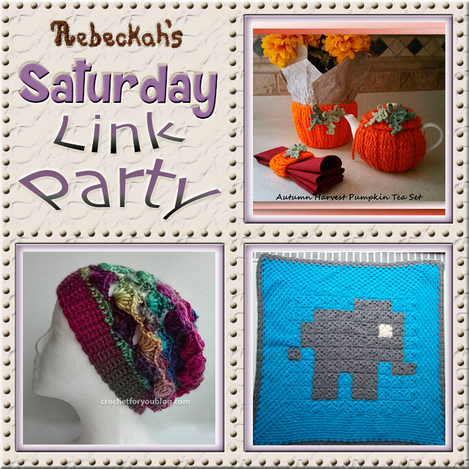 Saturday Link Party #61 via @beckastreasures with @crochetmemories @erangi_udeshika & #vrolijkbyleen | Come see 3 awesome project features, and JOIN us for an all NEW link party today! | #linkparty #crochet #knit #crafts #recipes #dyi #howto #tutorials #patterns | *Party #61 ends Friday, November 11th, 2016. Join the latest parties here: https://goo.gl/uUHihU