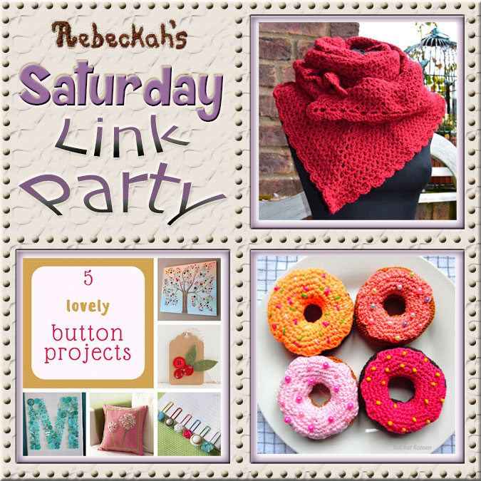 Saturday Link Party #64via @beckastreasures with #AtelierMarie-Lucienne #KeepingItReal & #KatKatKatoen | Come see 3 awesome project features, and JOIN us for an all NEW link party today! | #linkparty #crochet #knit #crafts #recipes #diy #howto #tutorials #patterns | *Party #64 ends Friday, December 9th, 2016. Join the latest parties here: https://goo.gl/uUHihU