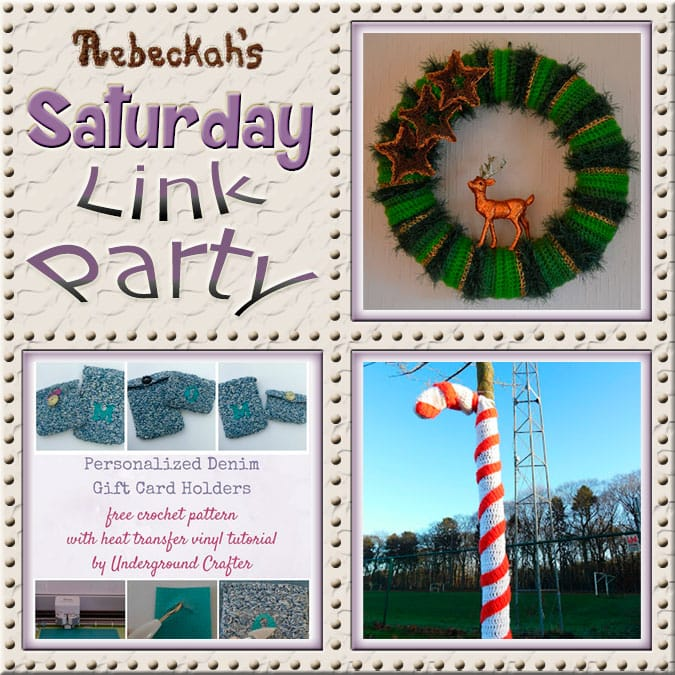 Saturday Link Party #66 via @beckastreasures with #AtelierMarie-Lucienne @ucrafter & #KatKatKatoen | Come see 3 awesome project features, and JOIN us for an all NEW link party today! | #linkparty #crochet #knit #crafts #recipes #diy #howto #tutorials #patterns | *Party #66 ends Friday, January 6th, 2017. Join the latest parties here: https://goo.gl/uUHihU