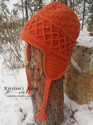 Snow Country Ski Hat | Friday Feature #19 via @beckastreasures with #KirstenHollowayDesigns #crochet | See the latest designer features here: https://goo.gl/UIvoYx OR SIGN UP to get featured at Rebeckah's Treasures here: https://goo.gl/xjDP52 #crochet