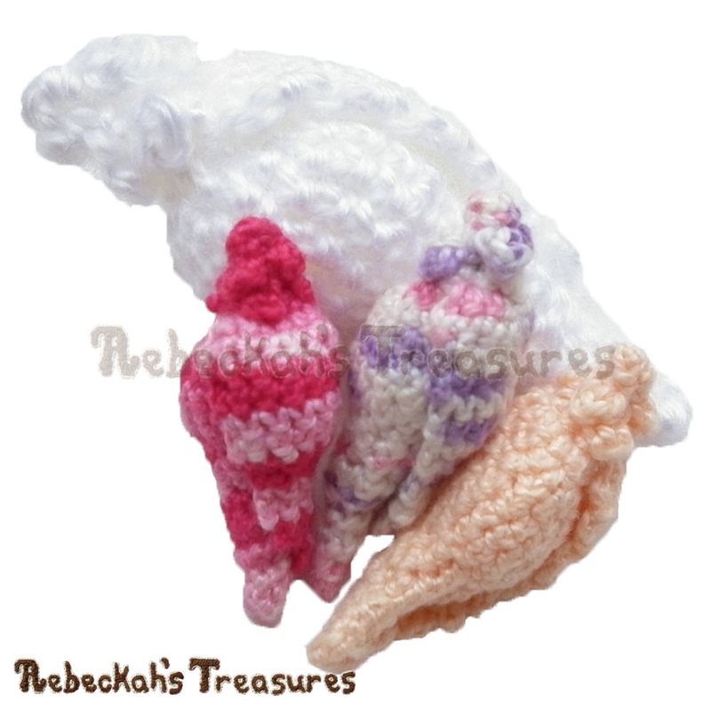 Spiral Conch Shell Free Crochet Pattern Rebeckahs Treasures