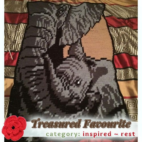 A Mother's Love | Treasured REST Favourite (less than 100 votes) at @beckastreasures | Fall into Christmas Crochet Contest 2016 (October 30th - December 21st)