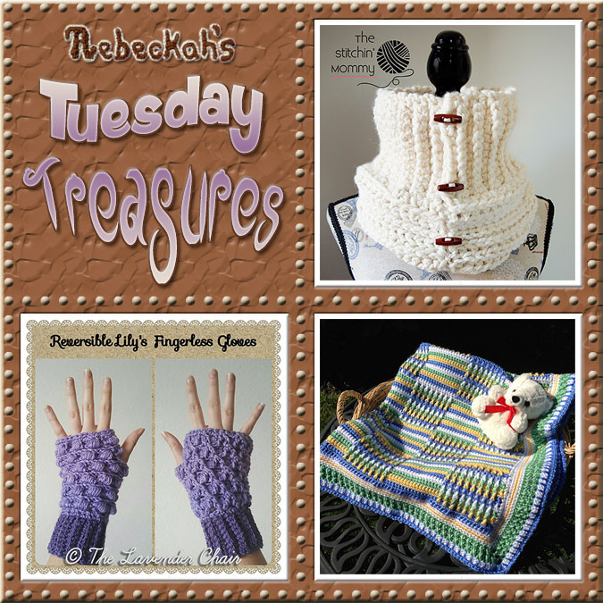 Tuesday Treasures #20 via @beckastreasures with @stitchin_mommy @LavenderChair & @PatternParadise | Come see 3 popular crochet pattern designs of today!