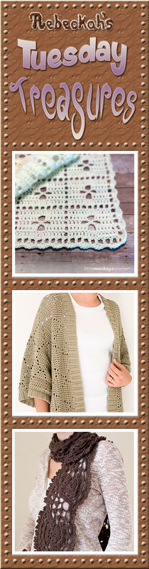 Come see this week's treasures at Rebeckah's 2nd Tuesday Treasures via @beckastreasures | Featuring @LittleMCrochet @1dogwoof & @melodysmakings | #crochet #treasures