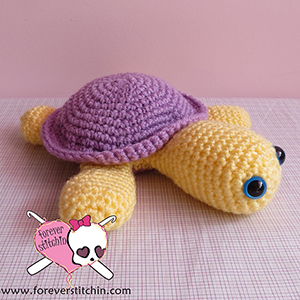 Sidney the Sea Turtle - Free Crochet Pattern by @foreverstitchin | Featured at Forever Stitchin - Sponsor Spotlight Round Up via @beckastreasures | #fallintochristmas2016 #crochetcontest #spotlight #crochet #roundup