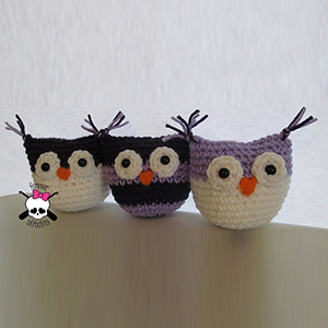 Baby Owl - Free Crochet Pattern by @foreverstitchin | Featured at Forever Stitchin - Sponsor Spotlight Round Up via @beckastreasures | #fallintochristmas2016 #crochetcontest #spotlight #crochet #roundup