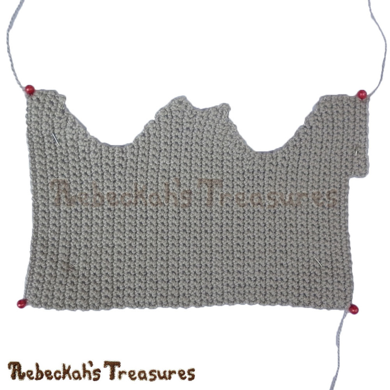 Working on Fashion Dude Running Tops - Gray - via @beckastreasures | Crochet patterns to come...